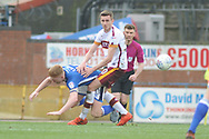 Rochdale Midfielder, Callum Camps (10)  during the EFL Sky Bet League 1 match between Rochdale and Bradford City at Spotland, Rochdale, England on 21 April 2018. Picture by Mark Pollitt.