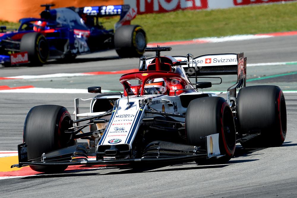 Kimi Raikkonen (Alfa Romeo-Ferrari) during practice before the 2019 Spanish Grand Prix at the Circuit de Barcelona-Catalunya. Photo: Grand Prix Photo