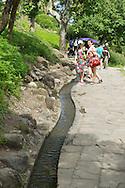 Water Running Up ????