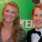 NLD/Scheveningen/20111106 - Premiere musical Wicked, Epke Zonderland en partner Linda