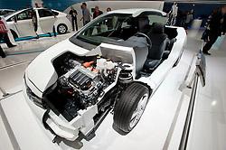 Toyota Hybrid HSD cut way demonstration car at Paris Motor Show 2010