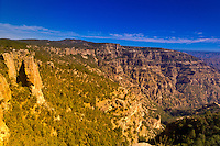The Copper Canyon overlook at Divisadero, Mexico