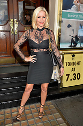 DENISE VAN OUTEN at the opening night of Breakfast at Tiffany's at The Theatre Royal, Haymarket, London on 26th July 2016.