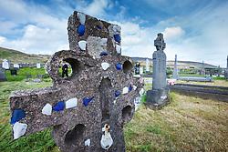 Cemetery at Kildownet, Achill Island, County Mayo, Ireland