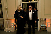 COL. ANDREW PARKER BOWLES AND HIS WIFE, Nicky Haslam party for Janet de Botton and to celebrate 25 years of his Design Company.  Parkstead House. Roehampton. London. 16 October 2008.  *** Local Caption *** -DO NOT ARCHIVE-© Copyright Photograph by Dafydd Jones. 248 Clapham Rd. London SW9 0PZ. Tel 0207 820 0771. www.dafjones.com.