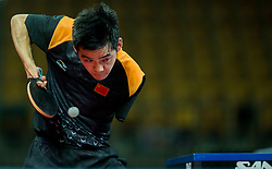Zhao Shuai of China plays final match during Day 4 of SPINT 2018 - World Para Table Tennis Championships, on October 20, 2018, in Arena Zlatorog, Celje, Slovenia. Photo by Vid Ponikvar / Sportida
