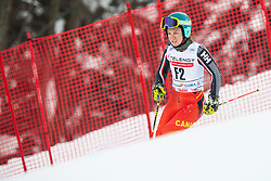 Forerunner Jakob Anderlic (SLO) during 1st Run of Ladies' Giant Slalom at 57th Golden Fox event at Audi FIS Ski World Cup 2020/21, on January 17, 2021 in Podkoren, Kranjska Gora, Slovenia. Photo by Vid Ponikvar / Sportida