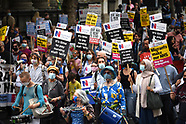 NHS 73rd Birthday  Protest