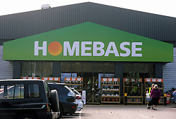 © Licensed to London News Pictures. 22/10/2014<br /> Orpington Homebase store Greater London.<br /> DIY giant  Homebase is to close a quarter of its stores over the next three years, leaving thousands of jobs hanging in the balance.<br /> (Byline:Grant Falvey/LNP)