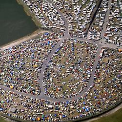Aerial view of Daytona International Speedway, Daytona, Florida as seen in 1993