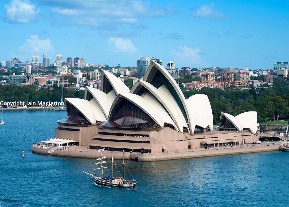 Sydney Opera House in New South Wales Australia