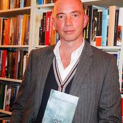 NLD/Amsterdam/20121004- Boekpresentatie Tommy Wieringa  - Dit Zijn de Namen, Tommy Wieringa