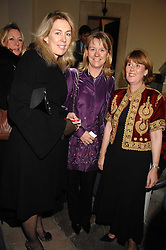 Left to right, ROZZY HYSLOP, SUE TATHAM and HENRIETTA PETIT at a Christmas Concert in aid of The Children's Trust at The Royal Hospital, Chelsea, London on 3rd December 2007.<br /><br />NON EXCLUSIVE - WORLD RIGHTS