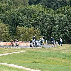 22-08-2020: Wielrennen: NK vrouwen: Drijber<br /> Koploopsters op de VAMberg Jip van Den Bosch, Anouska Koster (Netherlands / Team Parkhotel Valkenburg), Anna van der Breggen