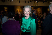 RAINE, THE COUNTESS OF SPENCER, Preview party for the Versace Sale.  The contents of fashion designer Gianni Versace's villa on Lake Como. Sothebys. Old Bond St. London. 16 March 2009.  *** Local Caption *** -DO NOT ARCHIVE -Copyright Photograph by Dafydd Jones. 248 Clapham Rd. London SW9 0PZ. Tel 0207 820 0771. www.dafjones.com<br /> RAINE, THE COUNTESS OF SPENCER, Preview party for the Versace Sale.  The contents of fashion designer Gianni Versace's villa on Lake Como. Sothebys. Old Bond St. London. 16 March 2009.