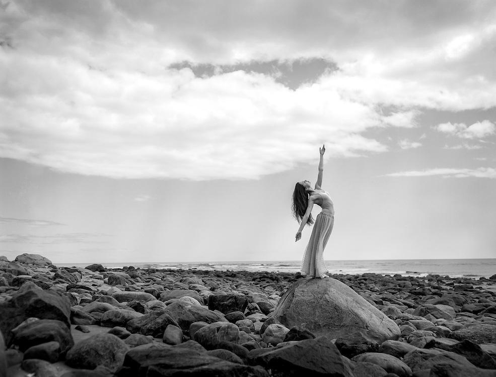 Olga Malinovskaya of The Bolshoi Ballet Academy. photographed in Boston.