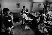 Manchiet Nasr. barbershop