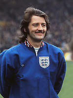 Frank Worthington - England, Scotland v England . 18/05/1974 @ Hampden park . Credit: Colorsport