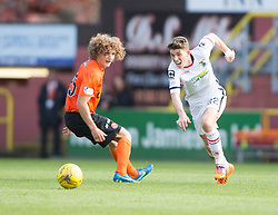 Dundee United's Aaron Kuhl and Inverness Caledonian Thistle's Ryan Christie. <br /> Dundee United 1 v 1 Inverness Caledonian Thistle, SPFL Ladbrokes Premiership game played 19/9/2015 at Tannadice.