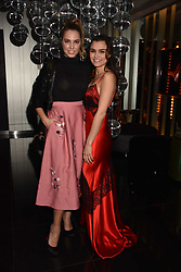 Amber Le Bon and Samantha Barks at the official launch of The Perception at W London, 10 Wardour Street, London England. 7 November 2017.<br /> Photo by Dominic O'Neill/SilverHub 0203 174 1069 sales@silverhubmedia.com