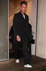 Celebrities leaving the Victoria Beckham store - 1 Oct 2019