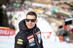 Rene Mlekuz of SZS Sloski during the Ladies' Slalom at 56th Golden Fox event at Audi FIS Ski World Cup 2019/20, on February 16, 2020 in Podkoren, Kranjska Gora, Slovenia. Photo by Morgan Kristan / Sportida