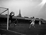23/9/1959<br /> 9/23/1959<br /> 23 September 1959 <br /> Soccer, football: European Cup, Shamrock Rovers v Nice at Dalymount Park, Dublin.