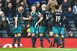 January 6, 2018 - Fulham, England, United Kingdom - Southampton's James Ward-Prowse celebrates his goal during the FA Cup 3rd Round match between Fulham against Southampton  at Craven Cottage Stadium, London England on 06 Jan 2018. (Credit Image: © Kieran Galvin/NurPhoto via ZUMA Press)