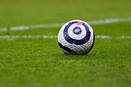 A general view of a Nike match football during the Premier League match between Burnley and West Bromwich Albion at Turf Moor, Burnley, England on 20 February 2021.