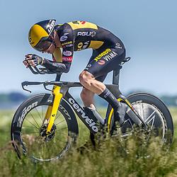 EMMEN (NED) June 16: <br />CYCLING <br />Dutch Nationals Time Trail men U23 Darren van Bekkum