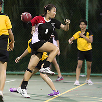 Singapore Polytechnic, Saturday, Oct 5, 2013 — Singapore Polytechnic (SP) sealed the women's title with a 26–2 win over Temasek Polytechnic (TP) in the 3rd Invitational Handball Games. <br /> <br /> Story: http://www.redsports.sg/2013/10/09/handball-women-sp-tp/