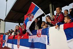 02.06.2010, Kufstein Arena, Kufstein, AUT, FIFA Worldcup Vorbereitung, Testspiel Serbien (SRB) vs Polen (POL), im Bild serbische Fans. EXPA Pictures © 2010, PhotoCredit: EXPA/ J. Groder / SPORTIDA PHOTO AGENCY
