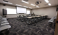 The Distance Learning Room, room 108 in the Aero-Propulsion, Mechatronics and Energy Build (AME) at the FAMU-FSU College of Engineering in Tallahassee.