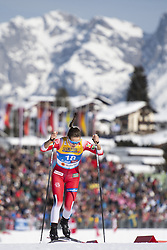 February 21, 2019 - Seefeld In Tirol, AUSTRIA - 190221 Lotta Udnes Weng of Norway competes in women's cross-country skiing sprint qualification during the FIS Nordic World Ski Championships on February 21, 2019 in Seefeld in Tirol..Photo: Joel Marklund / BILDBYRÃ…N / kod JM / 87879 (Credit Image: © Joel Marklund/Bildbyran via ZUMA Press)
