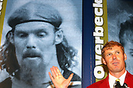 28 August 2006: 2006 inductee Alexi Lalas gives his induction speech. The National Soccer Hall of Fame Induction Ceremony was held at the National Soccer Hall of Fame in Oneonta, New York.