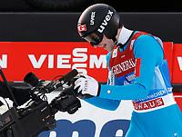 Hopp<br /> FIS World Cup<br /> Garmisch Partenkirchen Tyskland<br /> 01.01.2013<br /> Foto: Gepa/Digitalsport<br /> NORWAY ONLY<br /> <br /> FIS Weltcup der Herren, Vierschanzen-Tournee. Bild zeigt den Jubel von Anders Jacobsen (NOR).