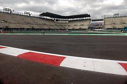 October 25, 2017 - EUM20171025DEP06.JPG.CIUDAD DE MÉXICO RacesCarreras-GP México.- Aspectos generales de la zona del Foro Sol del Autódromo Hermanos Rodríguez. La pista se aprecia en óptimas condiciones a dos días de que inicie el Gran Premio de México, 25 de octubre de 2017. Foto: Agencia EL UNIVERSALRenzo ChiquitoMAVC (Credit Image: © El Universal via ZUMA Wire)
