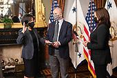 March 18, 2021 (DC): Vice President Harris Swears In New Trade Rep Katherine Tai