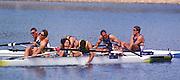 2000 Sydney Olympic Games - Sydney. NSW. Australia.Olympic Regatta - Penrith Lakes..23.09.2000. Finals day2002 Sydney Olympic Games - Sydney. NSW. Australia.Olympic Regatta - Penrith Lakes..23.09.2000. Finals day.GBR M4- Stroke Matt Pinsent, 2 Tim Foster, 3 Steve Redgrave and James Cracknell. forground, AUS M4- Stroke J STEWART; 2. G STEWART; 3. B DODWELL; Bow. B HANSON, 2000 Olympic Regatta Sydney International Regatta Centre (SIRC) 2000 Olympic Rowing Regatta00085138.tif