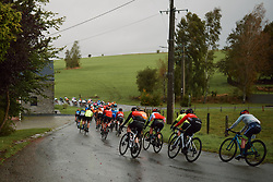Weaving through the countryside at the 2020 Liège Bastogne Liège, a 135 km road race from Bastogne to Liège, Belgium on October 4, 2020. Photo by Sean Robinson/velofocus.com