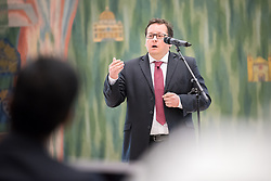 21 September 2017, Geneva, Switzerland: World Council of Churches staff gather for the annual Staff Enrichment Days. Here, Marcelo Schneider.