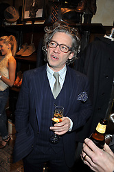 DEXTER FLETCHER at a reception hosted by Ralph Lauren Double RL and Dexter Fletcher before a private screening of Wild Bill benefitting FilmAid held at RRL 16 Mount Street, London on 26th March 2012.