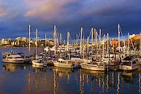 Sailboats, Inner Harbour, Victoria, British Columbia, Canada