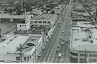 1971 Looking south on Highland Ave. from Santa Monica Blvd.