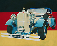 The MAYBACH DS-8 Zeppelin from1935 is just about the most exclusive car from the 1930s. The Maybach car brand still stands for pure class and only affordable by the richest people. Occasionally a Maybach from 1935 is auctioned by specialized auction houses and record amounts are set by collectors and museums.<br />