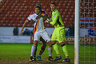 Bradford City midfielder Timothee Dieng (8)  during the EFL Sky Bet League 1 match between Walsall and Bradford City at the Banks's Stadium, Walsall, England on 17 December 2016. Photo by Simon Davies.