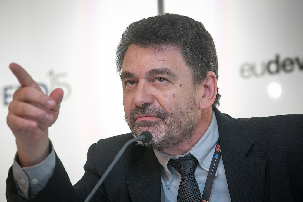 03 June 2015 - Belgium - Brussels - European Development Days - EDD - Inclusion - Euro-Latin American policy dialogue for social cohesion - Fabián Repetto , Programme director for Social Protection at Argentina's CIPPEC (Center for the Implementation of Public Policies Promoting Equity and Growth) © European Union