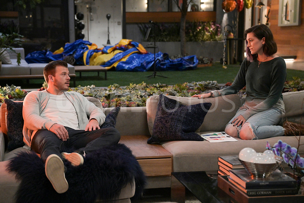 """HOME ECONOMICS - """"Bounce House Rental, $250"""" – Connor invites all the cousins over for an epic sleepover to cheer up his daughter, Gretchen. Meanwhile, Tom is determined to prove he can be a fun uncle too on """"Home Economics,"""" WEDNESDAY, APRIL 21 (8:30-9:00 p.m. EDT), on ABC. (ABC/Temma Hankin)<br /> JIMMY TATRO, CAITLIN MCGEE"""