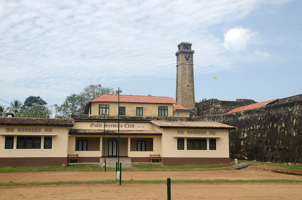 Galle Services Club in Galle Fort, Sri Lanka