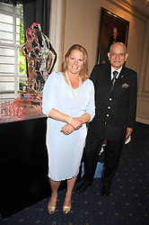 VISCOUNTESS GORMANSTON and NAIM ATTALLAH at a party to celebrate the publication on 'Unsuitable' by Suzy Parsons held at St.Stephen's Club, 34 Queen Anne's Gate, London SW1 on 19th June 2008<br /><br />NON EXCLUSIVE - WORLD RIGHTS